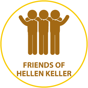 friends hellen keller